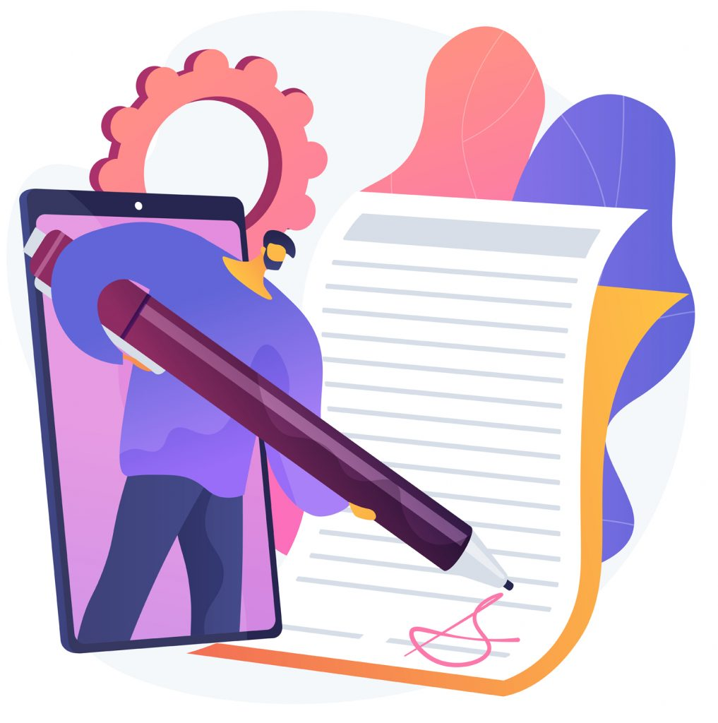 Writing in Paper Animated Logo